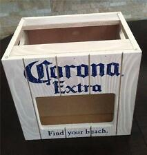 Corona Extra Beer Wooden Lime Holder Bar Counter Storage Display