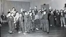 Boy Scouts at The Jewish Center Vintage 1955 Negative Photo
