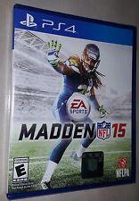 Madden NFL 15 - Sony PlayStation 4 - Brand New & Sealed !!