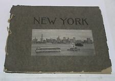 1930s New York Souvenir Book of Pictures by A Wittemann