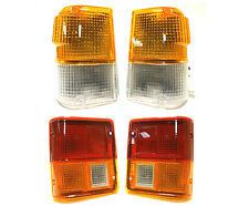 MITSUBISHI PAJERO MONTERO 1983-1991 REAR TAIL LIGHTS LAMPADA + TURN SIGNAL BLINKER