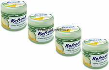 Refresh Cucumber Melon Odor Eliminator Air Freshener Car RV Home Pack 4.5 oz Gel
