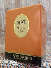 Vintage RARE 1991 DUNE 1.7 oz 50 ml Eau de Toilette Christian Dior FIRST FORMULA