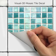 Wall Tile Sticker Kitchen Bathroom Decorative Decal : Mosaic MS011