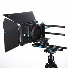FOTGA DP500IIS DSLR 15mm Rod Rail Baseplate + DP3000 M3 Matte Box Swing Away Kit