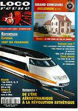 LOCO REVUE N°638 RESEAU : FINE SCALE / ESPERAIL / 230.F G K / AERODYNAMIQUE