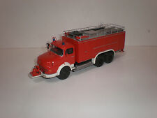 1/43 Fire Engine Mercedes Benz La 2624-S SLF 600 Metz (1968)