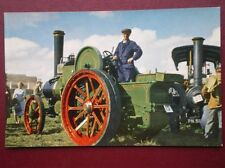 POSTCARD  AVELING & PORTER (ROCHESTER) TRACTOR TYPE ENGINE NO 8809 'FLOWER'