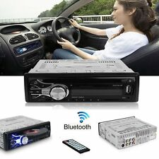 Car Single 1Din MP3 MP5 CD DVD Player Bluetooth Radio USB Head Stereo with Remot