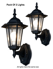 Pack Of 2 Outdoor Lantern W/ Smart Photocell Sensors - Dusk-To-Dawn Lighting