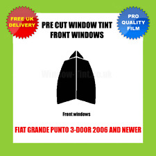 FIAT GRANDE PUNTO 3-DOOR 2006+ FRONT PRE CUT WINDOW TINT KIT