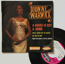 """Vinyle 45T Dionne Warwick  """"A house is not a home"""""""