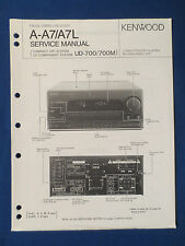 KENWOOD A-A7 L UD-700 M RECEIVER SERVICE MANUAL ORIGINAL FACTORY ISSUE GOOD COND