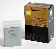 NIKON EN-EL14a BATTERY ORIGINAL NEW D3300-D5300-D3200-D5200p7000 p7100 p7700