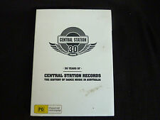 30 YEARS OF CENTRAL STATION RECORDS NEW DVD! DANCE MUSIC IN AUSTRALIA SUBLIME