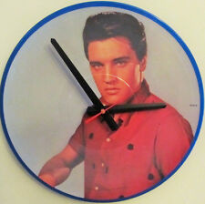 "ELVIS PRESLEY*COOL PICTURE DISC ALBUM CLOCK!**GREAT GIFT*12""LP**FREE SHIPPING!"