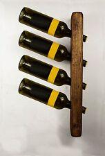 W4 bottiglia di vino Rack Parete Cucina Ristoranti Bar in rovere scuro