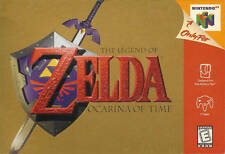 The Legend Of Zelda: Ocarina Of Time Very Good N64 1Z