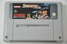 STARWING - SNES Game - Super Nintendo - PAL - Cleaned & Tested