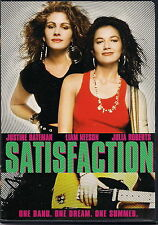 Satisfaction (DVD 2005) VERY RARE JULIA ROBERTS 1ST FILM 1988 MUSICAL BRAND NEW