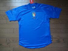 Italy 100% Original Soccer Football Jersey Shirt M 2004 Home Still BNWT NEW Rare