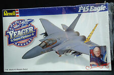 1987 F-15 Eagle Revell Airplane Model Kit Yeager Super Fighter Version NIB