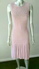 NWT TED BAKER DUSTY ROSE KNIT SCOOTER DRESS sz S