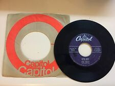 ROCKABILLY 45 ROM RECORD- GENE VINCENT AND HIS BLUE CAPS - CAPITOL F3763