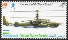 KAMOV Ka-50 (Black Shark) Russian Attack Helicopter Aircraft Stamp