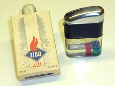 ZICO 421 POCKET PETROL FRENCH LIGHTER - FEUERZEUG - OVP - 1950 - FRANCE - RARE