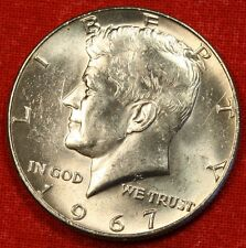 1967-P KENNEDY HALF DOLLAR BU 40% SILVER COIN CHECK OUT STORE L@@K * $ KH81