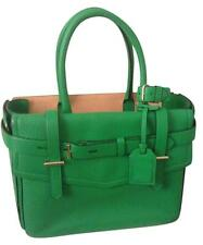 Reed Krakoff Large Boxer Leather Bag Purse Tote Zephyr Green NEW RARE $1290 NWT