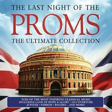 THE LAST NIGHT OF THE PROMS THE ULTIMATE COLLECTION CD - NEW RELEASE 2016