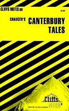Cliffs notes CANTERBURY TALES Chaucer study guide