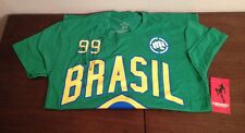 NEW PUNISHMENT ATHLETICS BRAZIL MMA T-SHIRT SIZE S UFC Signed By Tito Ortiz