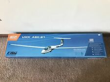 Great Condition E-flite UMX ASK-21 BNF Bind N Fly RC Sailplane EFLU1280 !!!