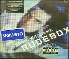 "ROBBIE WILLIAMS "" RUDEBOX "" CD+DVD SIGILLATO SPECIAL EDITION PRIMA EDIZIONE"