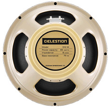 "BNIB CELESTION G12M 65 CREAMBACK GUITAR SPEAKER 12"" 16ohm 65 watts"