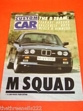 CUSTOM CAR - M SQUAD - MARCH 1986