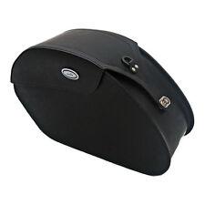 Ledrie Satteltaschen schwarz Leder, verstärkt, 18 Liter, f. Harley - Davidson