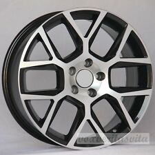 "17"" LAGUNA STYLE BLACK MACHINE WHEELS RIMS FITS VW VOLKSWAGEN GTI GOLF 2.0 GLI"