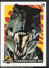 (ZZ) Topps 1993 Jurassic Park Trading Card-no 7-Tiranosaurio Rex