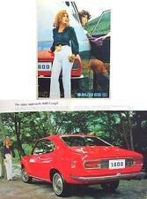 Mazda 616 1971-1974 Original UK Sales Brochure Pub. No.  A47108M 102-122