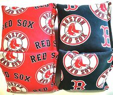 Boston Red Sox Red Blue Cornhole Bags Set of 8, Top Quality, Free Shipping