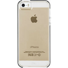 Case-Mate Apple iPhone 5/5S Naked Tough Case - Clear with White Bumper