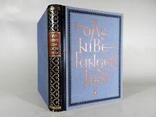 DAS NIBELUNGEN-LIED ° Karl Simrock °  Buch-Gemeinschaft Berlin 1922 ° Exlibris