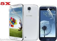 5 X SCREEN PROTECTOR PROTECTIVE FILM SAVER FOR SAMSUNG i9500 GALAXY S4 IV