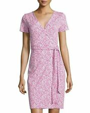 NWT Diane von Furstenberg New Julian Two Wrap Dress 14 $398