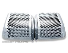 Chrome Rear Speaker Accents for Honda GL1500 Goldwing 88-00 (15678-158A)
