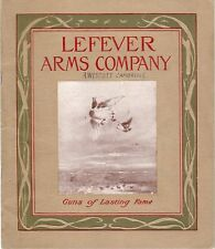 Lefever Arms Original 1912-13 Gun Catalog